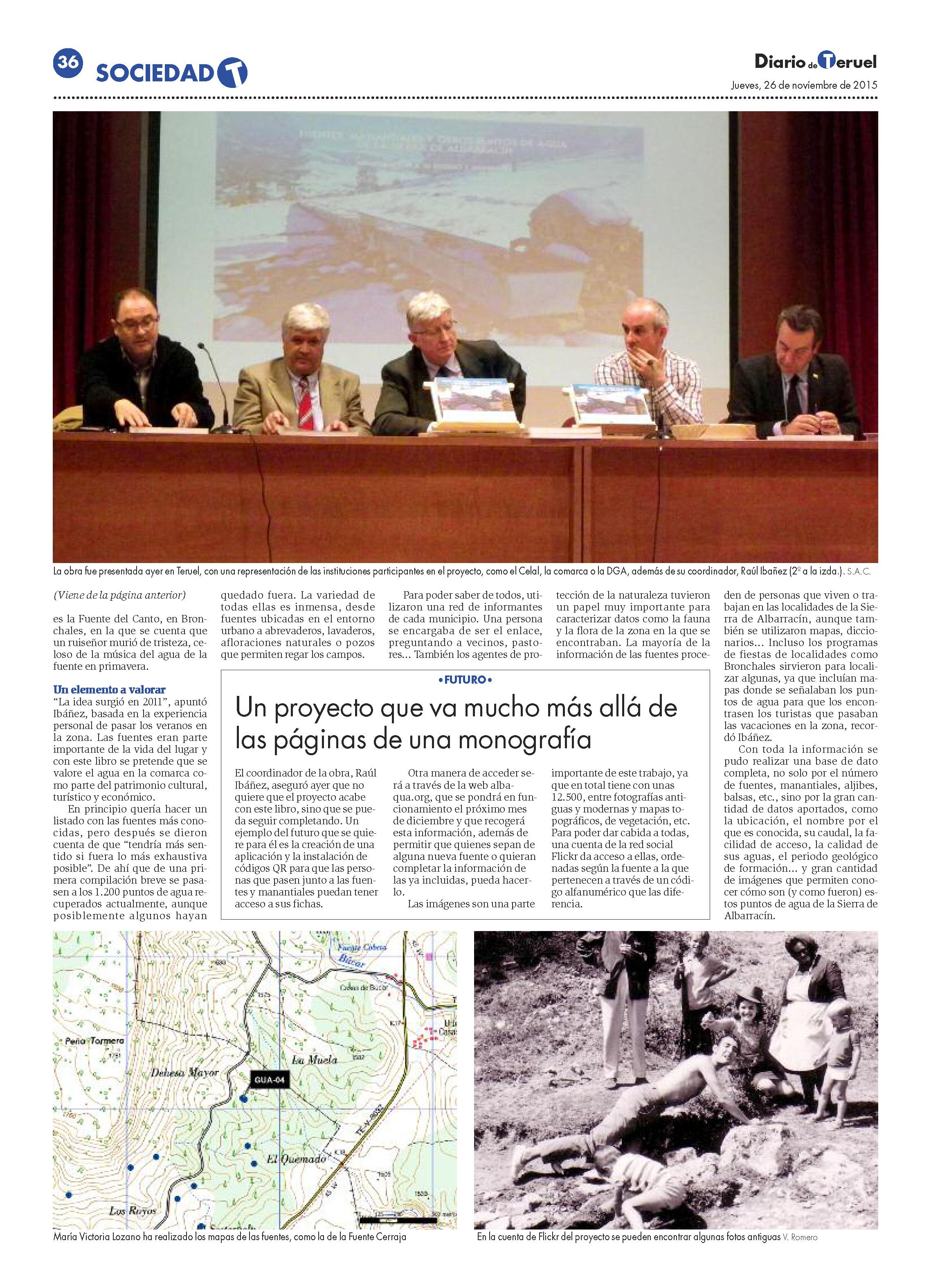 Imagen de FOTOS MAPAS Y LEYENDAS DE LAS 1.200 FUENTES DE LA SIERRA DE ALBARRACÍN. Pág.2