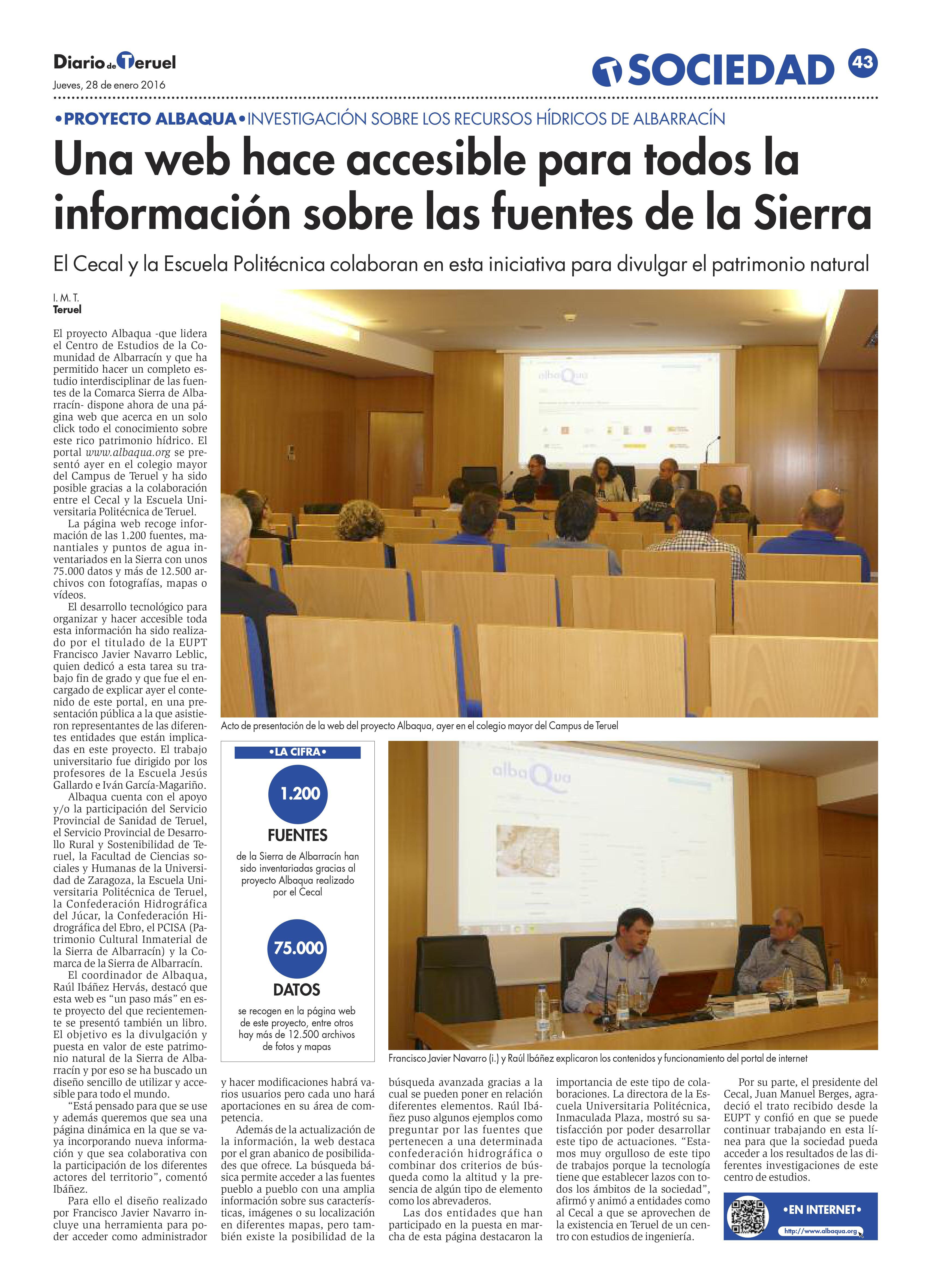 Imagen de PRESENTACIÓN WEB ALBAQUA
